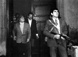 Salvador Allende, defendiendo el Palacio de la Moneda, Septiembre de 1973