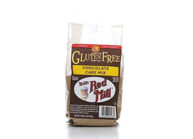 Bobs Red Mill Gluten Free Cake Mix, Chocolate - 16 oz