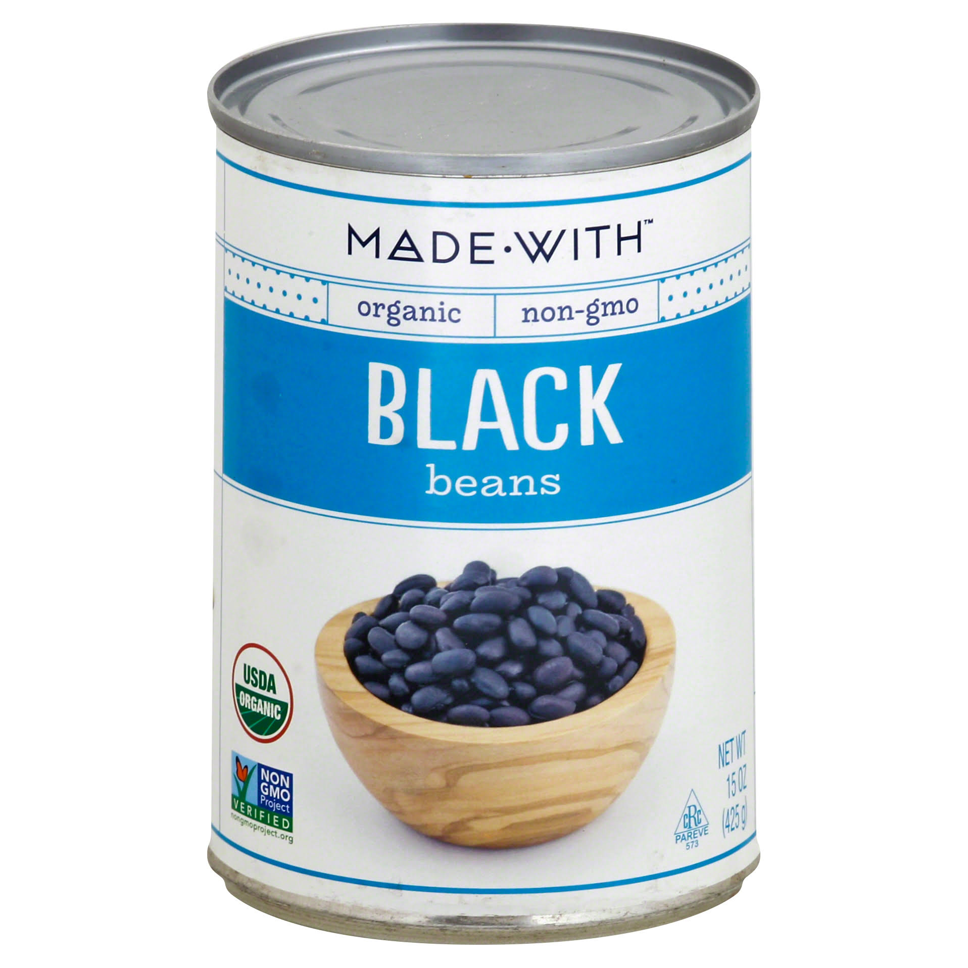 Made with Organic Black Beans - 15oz