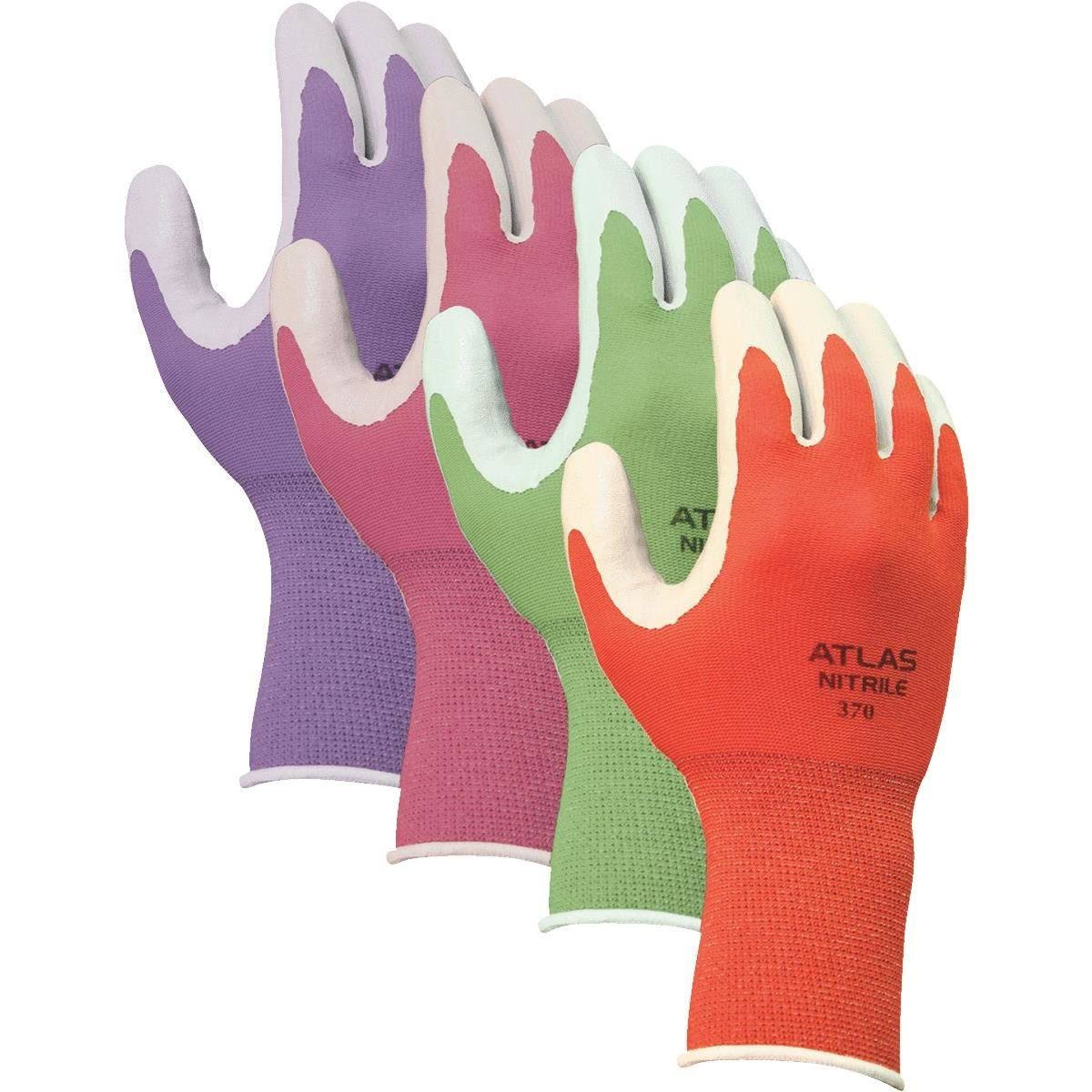 Atlas Nitrile Touch Garden Glove - Large