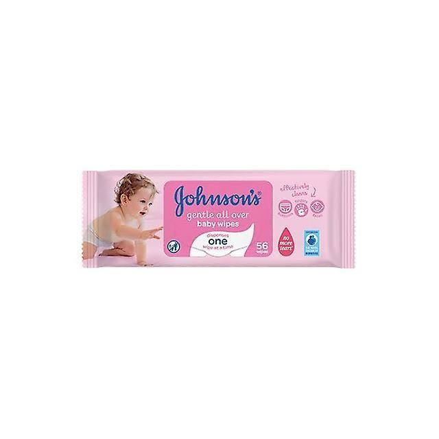 Johnsons Baby Gentle All Over Wipes - 56ct
