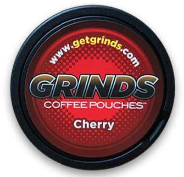 Grinds Coffee Pouches, Cherry - 0.635 oz
