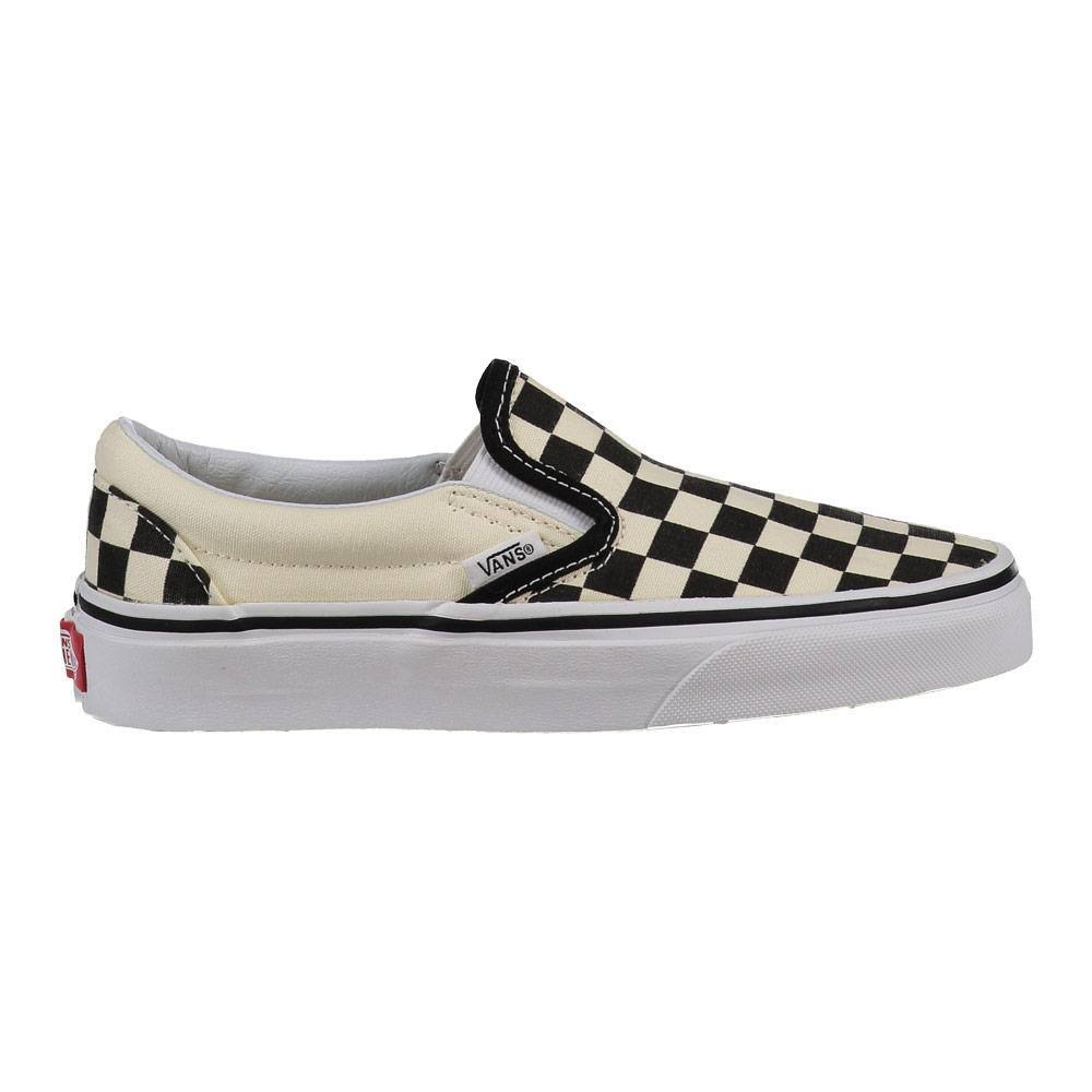 Vans Classic Slip On Sneaker Shoes - Black and White