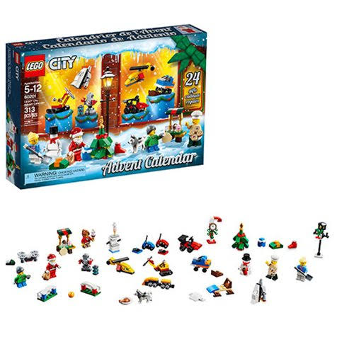 Lego City Advent Calendar Mini Figure Set