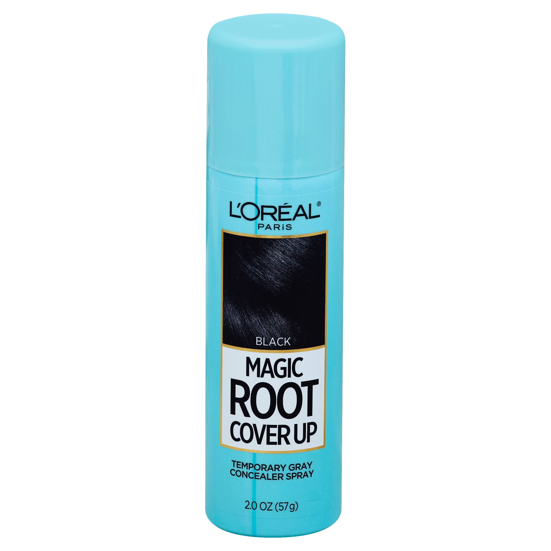 L'Oréal Loreal Root Cover Up Spray - Black, 59ml