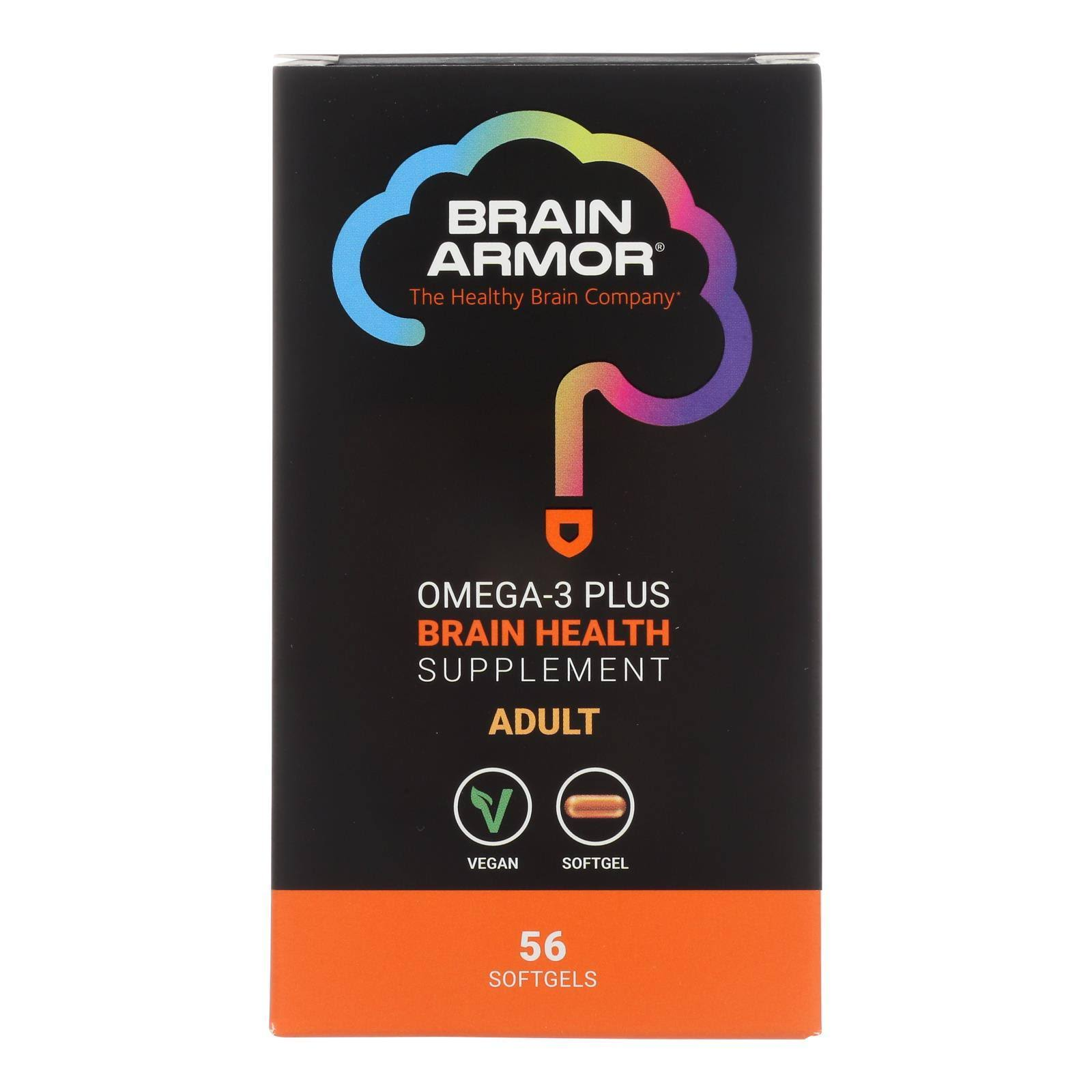 Brain Armor - Brain Health Adult - 56 SGEL