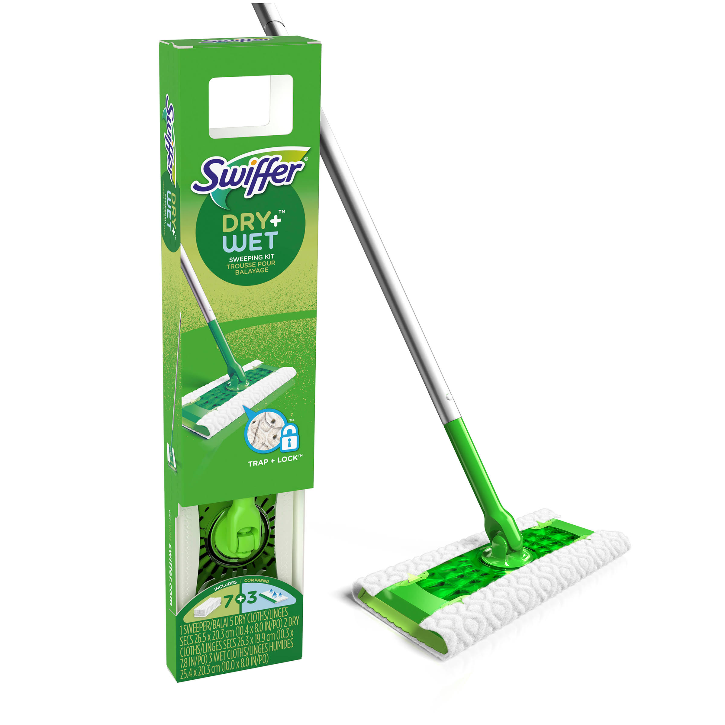 Swiffer Dry+Wet Sweeper Starter Kit - 11pc