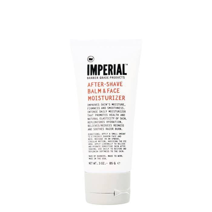 Imperial Barber After Shave Balm and Face Moisturizer - 3oz