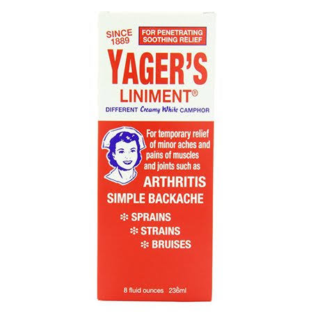 Yager's Liniment Different Creamy White Camphor - 8oz