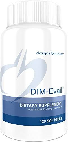 Designs for Health Dim-evail 100mg Supplement - 120 Capsules