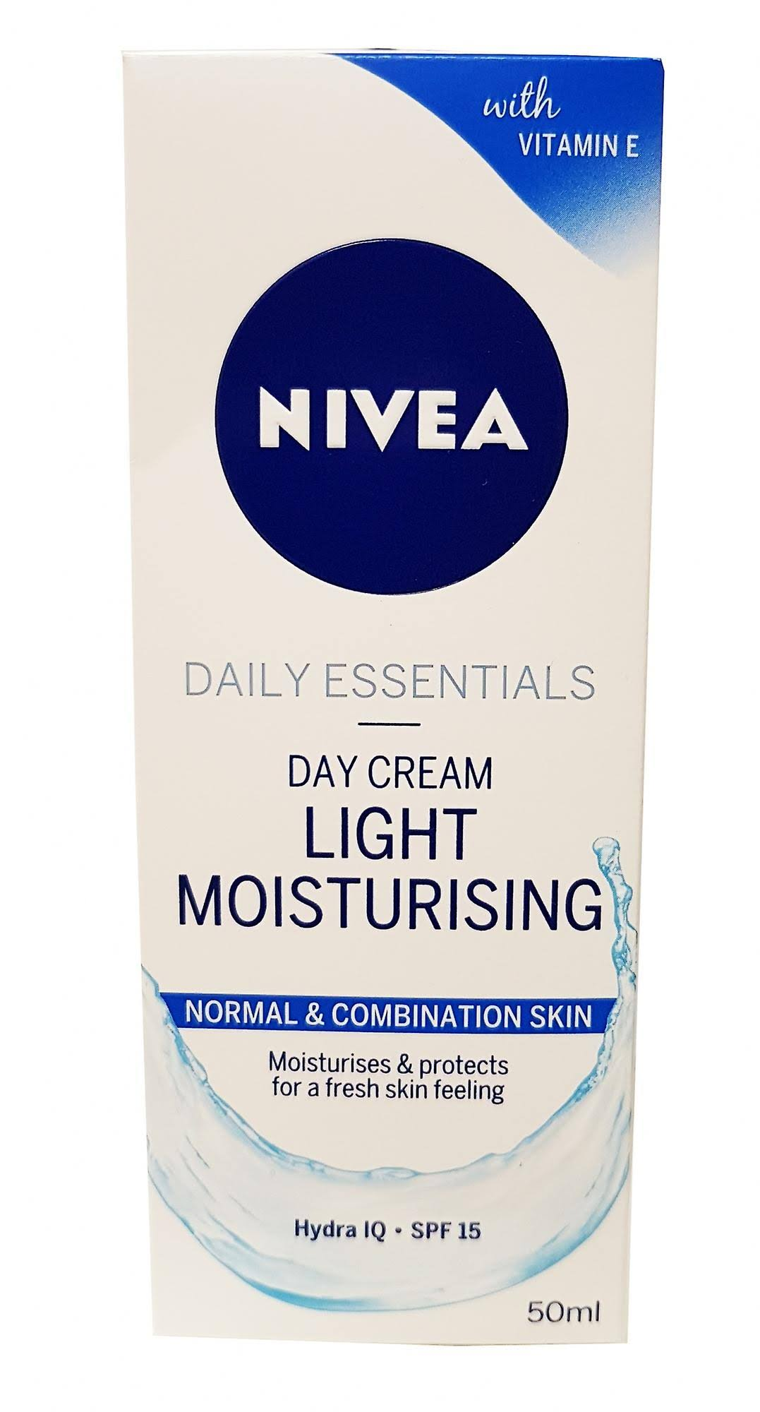 Nivea Daily Essentials Light Moisturising Day Cream - 50ml