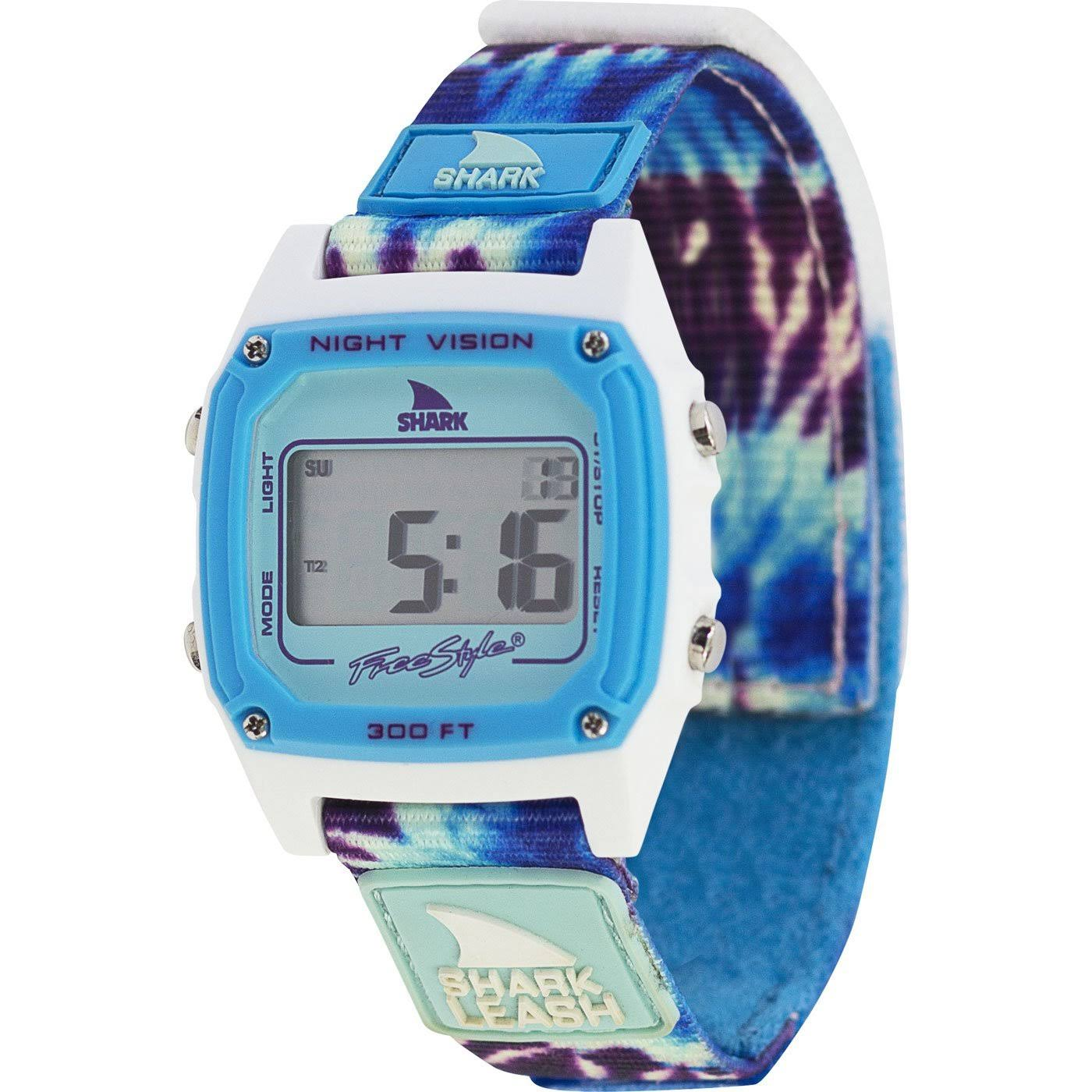 Freestyle Shark Leash Tie Dye Watch - Blue Daze