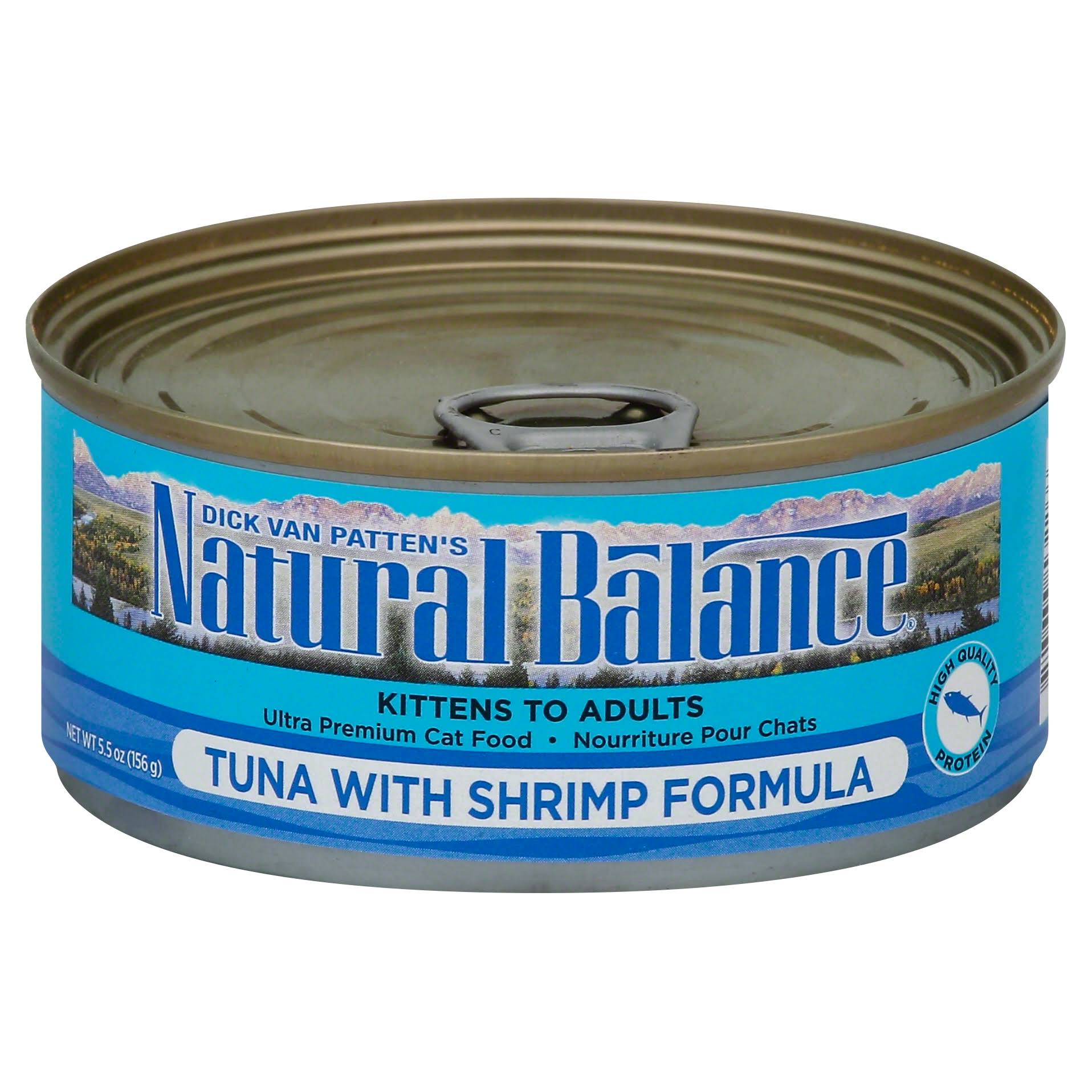 Natural Balance Tuna with Shrimp Formula Canned Cat Food