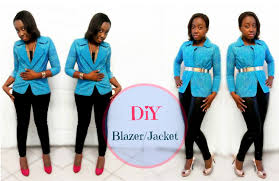 how to make a blazer jacket for beginners youtube