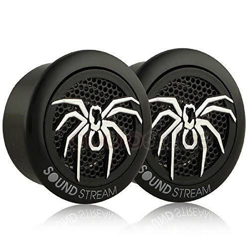Soundstream Tws 3n Dome Tweeters - 110 Watts, 4 Ohm, 1 Pei