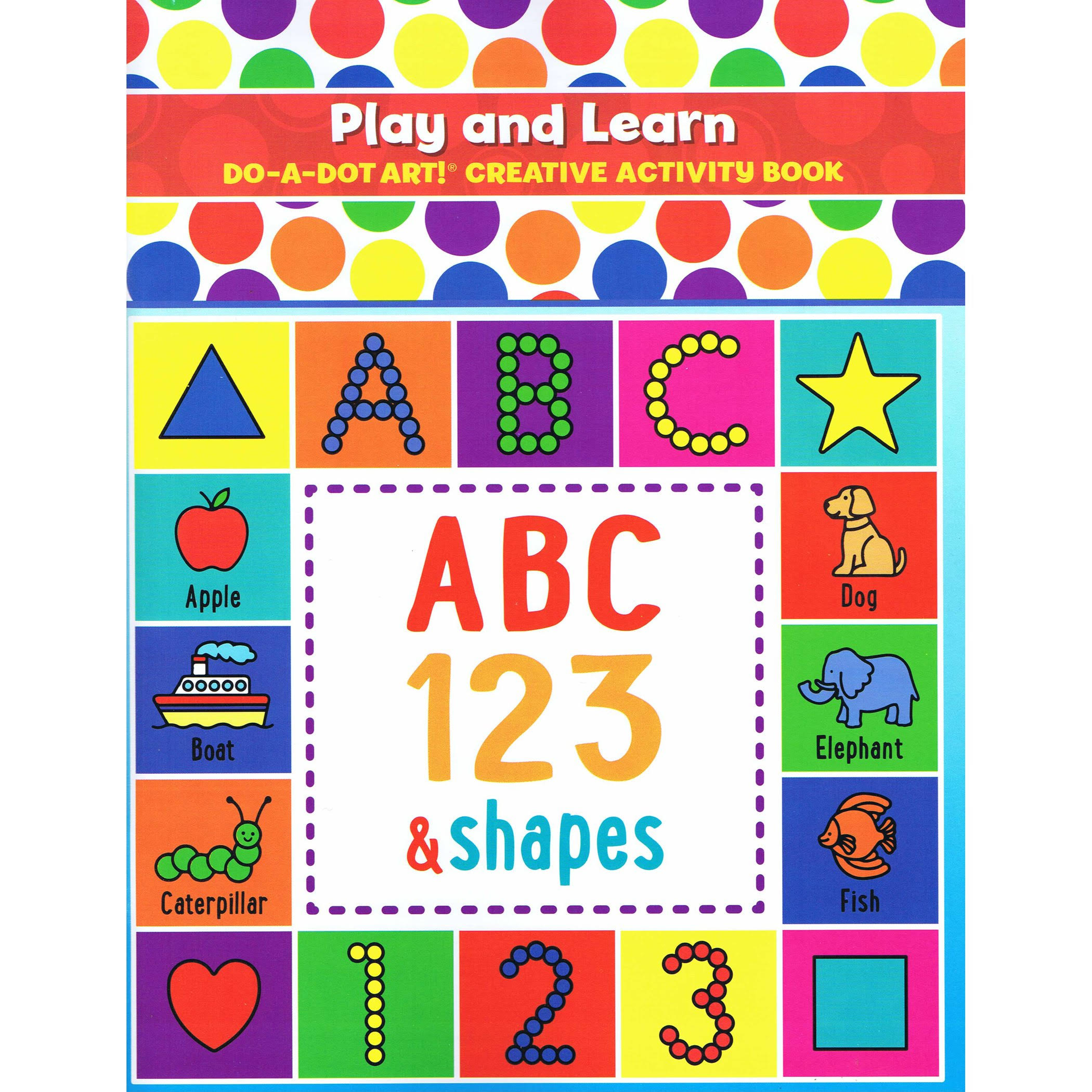 Play & Learn Do-a-Dot Creative Activity Book