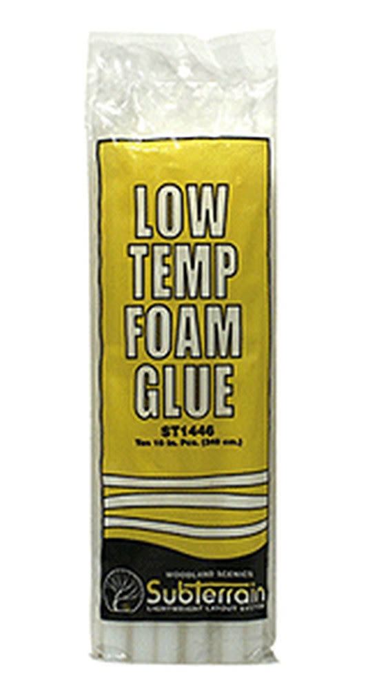 Woodland Scenics Low Temp Foam Glue Sticks - 10pk