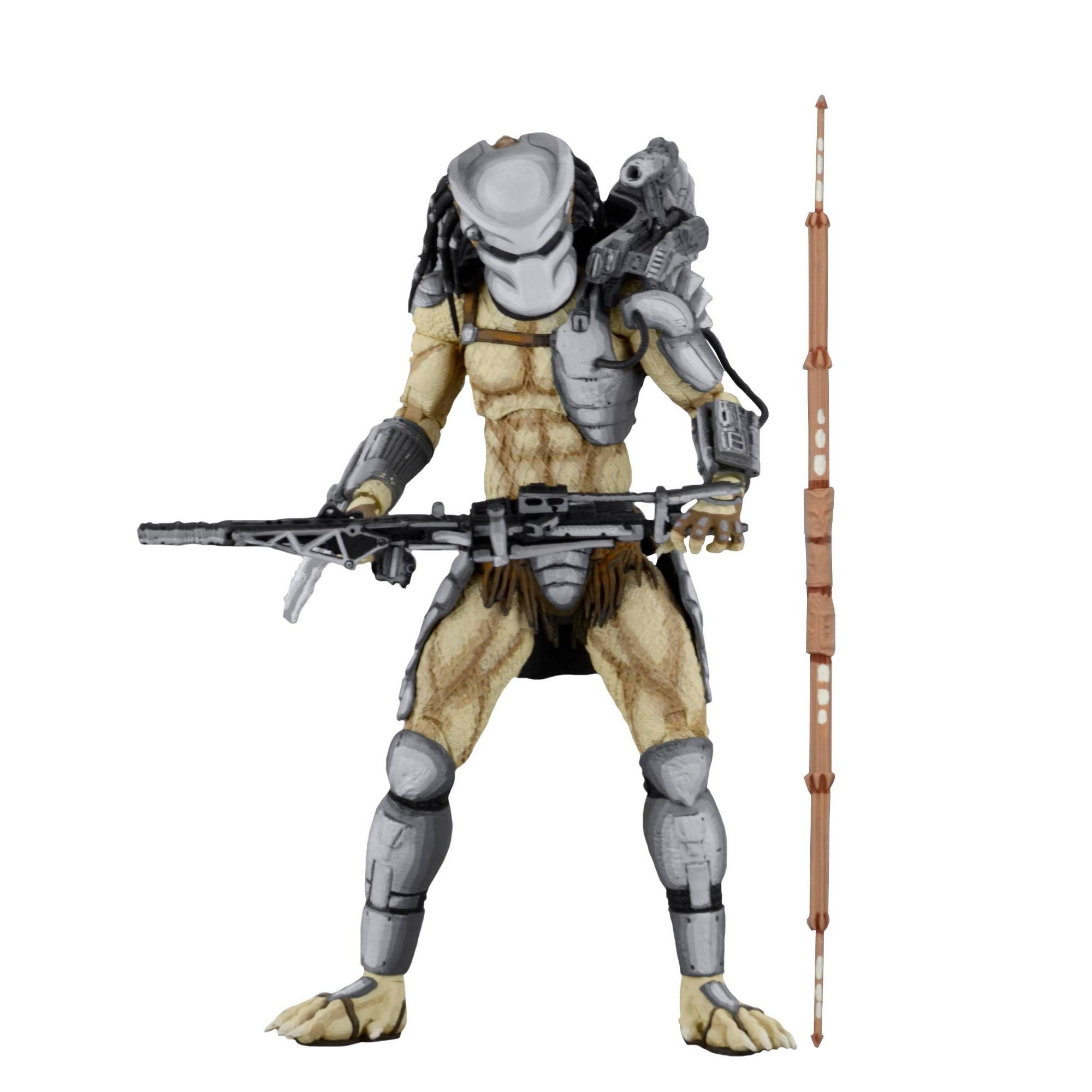NECA Aliens Vs Predator Arcade Appearance Figure - Warrior Predator, 7""