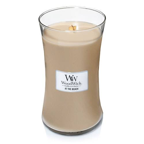 Woodwick Jar Candle - At the Beach, 22oz