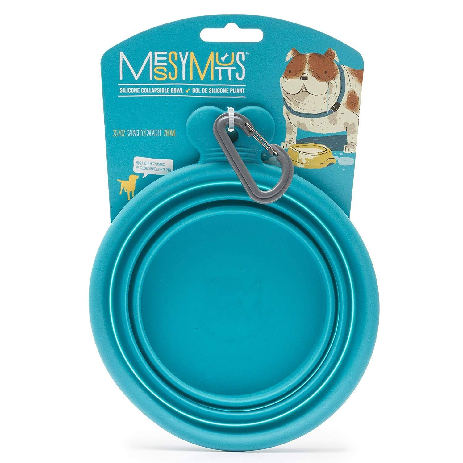 Messy Mutts Silicone Collapsible Dog Bowl - 3.25cups