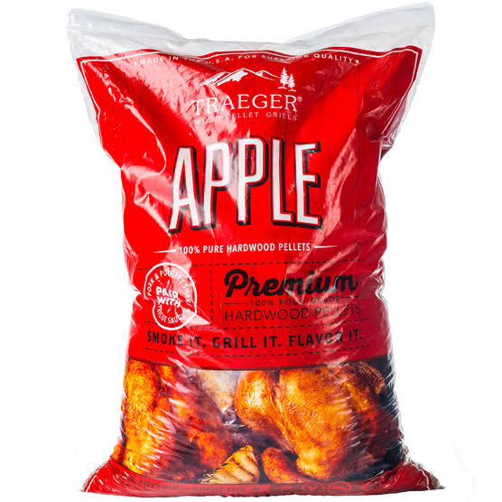 Traeger Apple Wood Pellets - 20lb