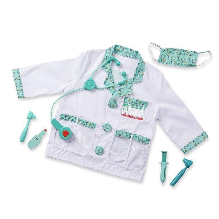 Melissa and Doug Role Play Costume Set - Doctor