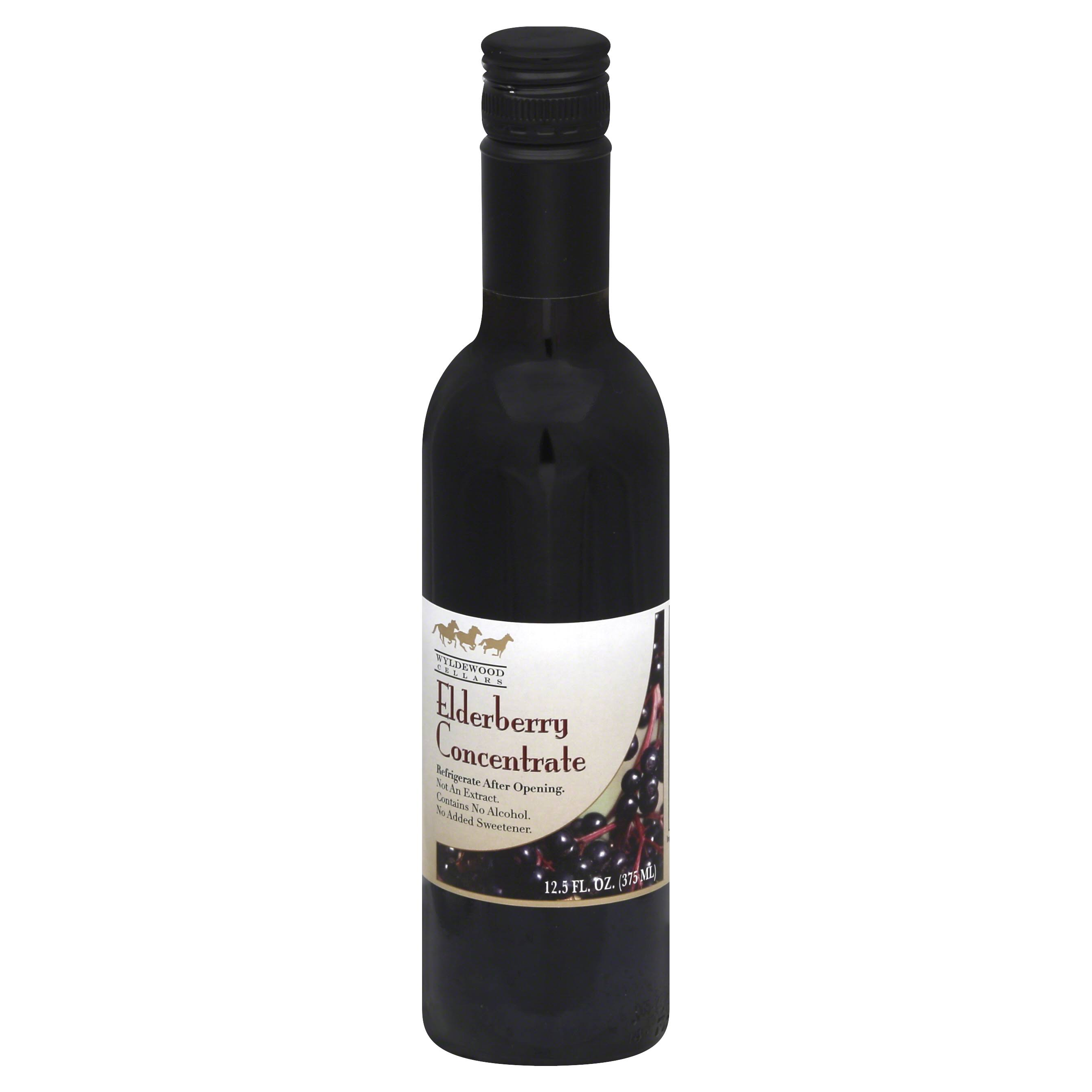 Wyldewood 100% All Natural Elderberry Juice Concentrate - 370ml