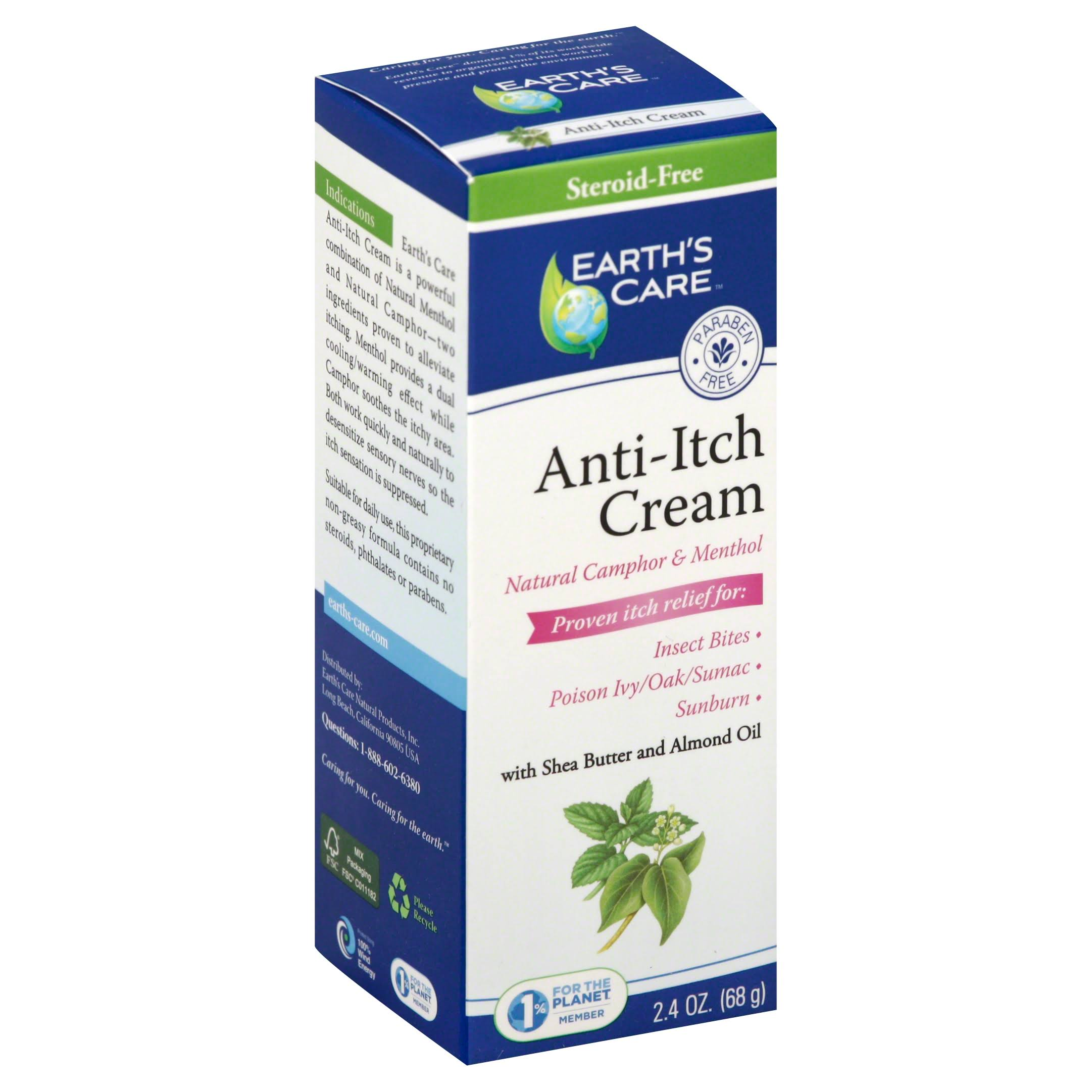 Earth's Care Anti Itch Cream - 70ml