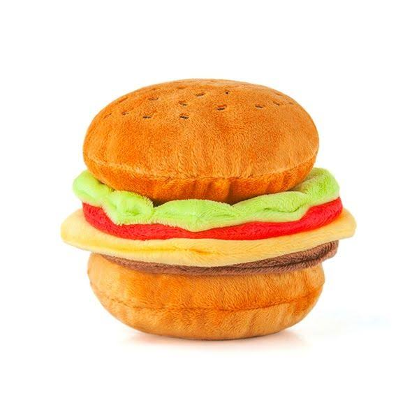 P.L.A.Y - American Classic Plush Burger Dog Toy