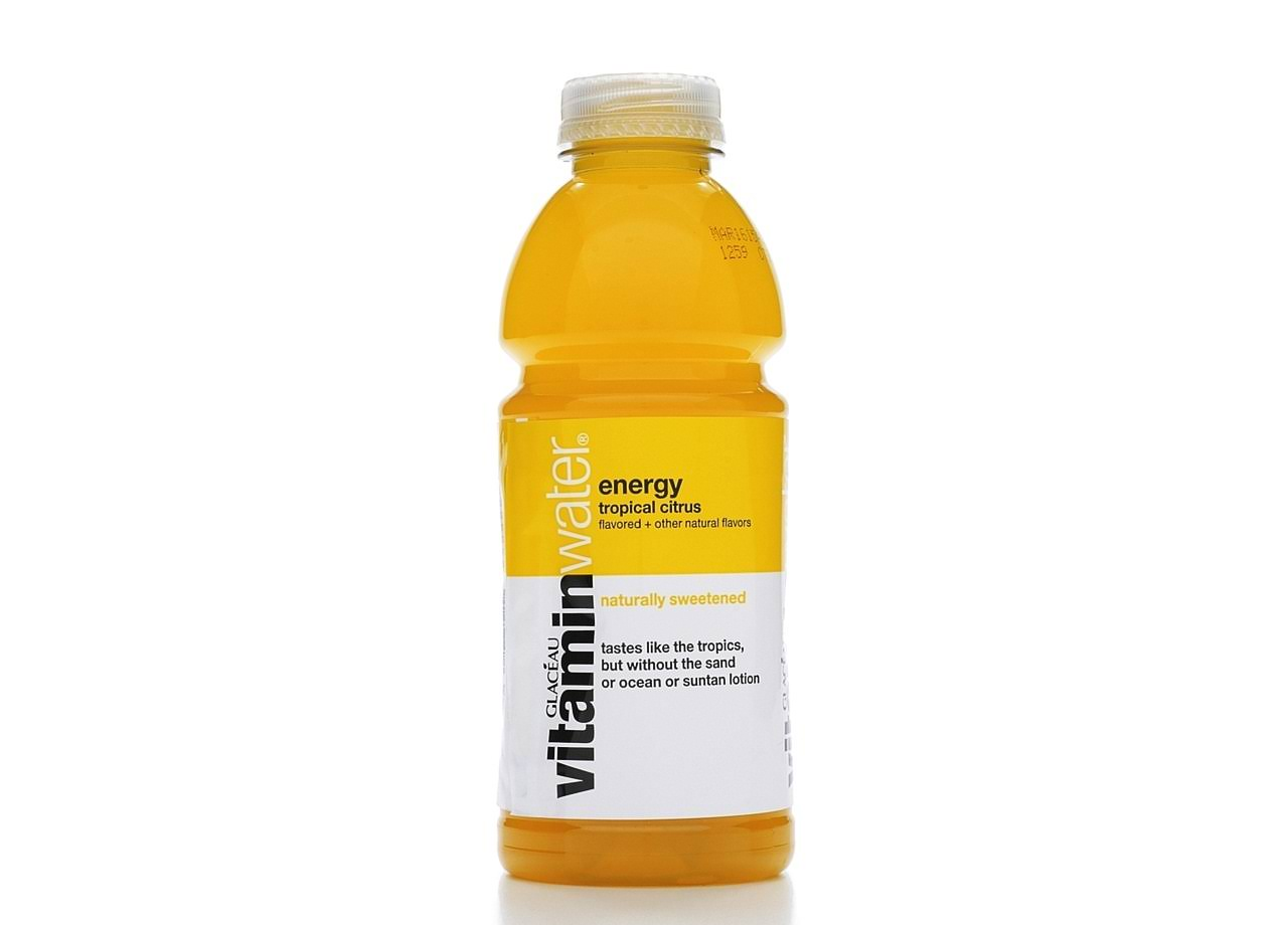 Vitamin Water Energy Nutrient Enhanced Beverage - Tropical Citrus, 20oz