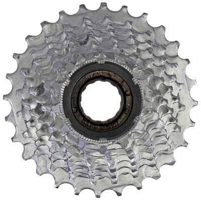 Sunlite 8 Speed Freewheel - Chrome Plated, 13 to 28t