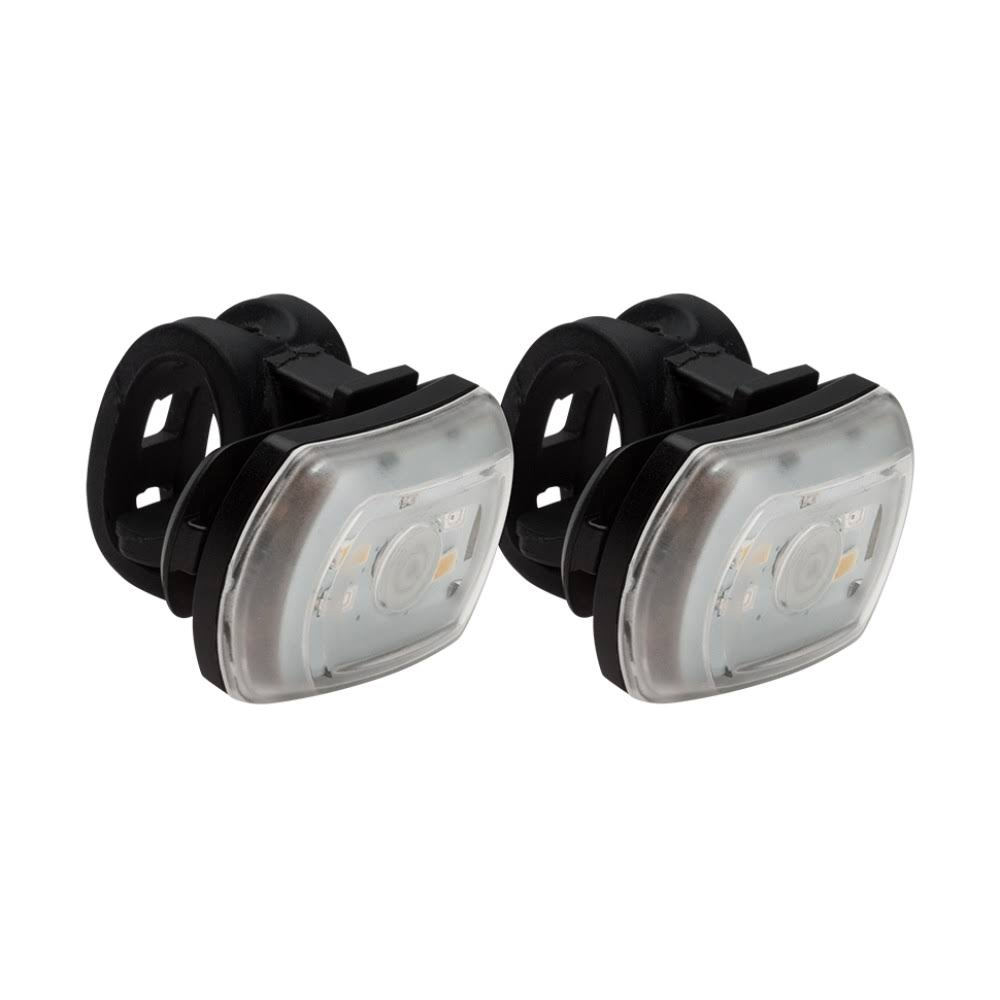 Blackburn Front or Rear Bike Light - Black, 2pk