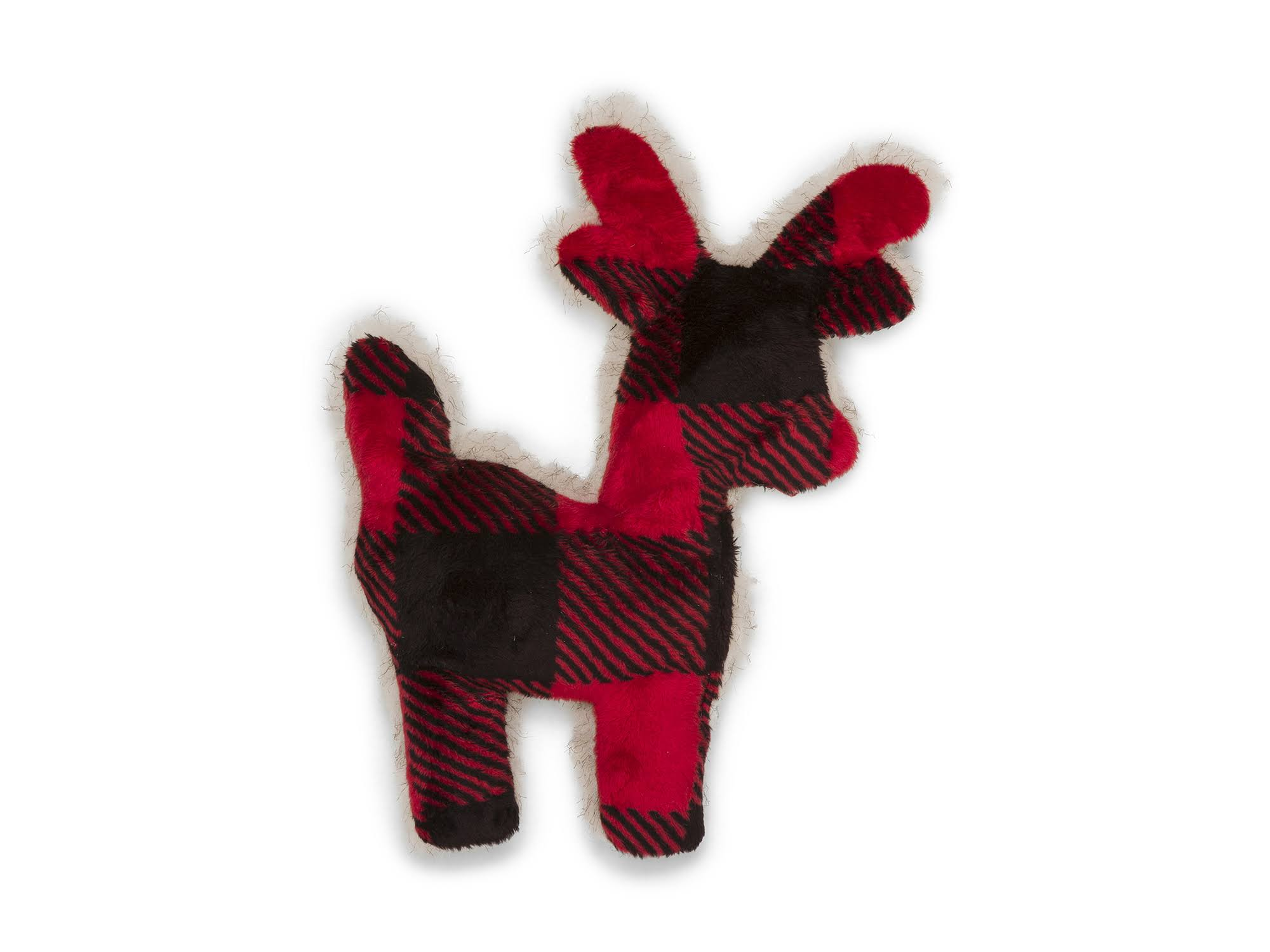 West Paw Design Plush Reindeer Toy Tiny Tuff