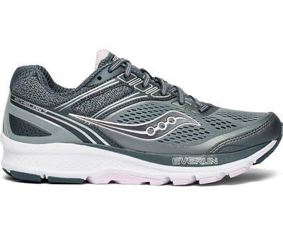 Saucony Echelon 7 (Slate/Pink) Women's Shoes