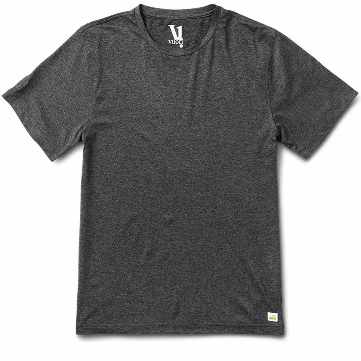 Vuori Men's Strato Tech Tee - Heather Charcoal