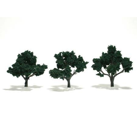 Woodland Scenics Assembled Tree - Dark Green