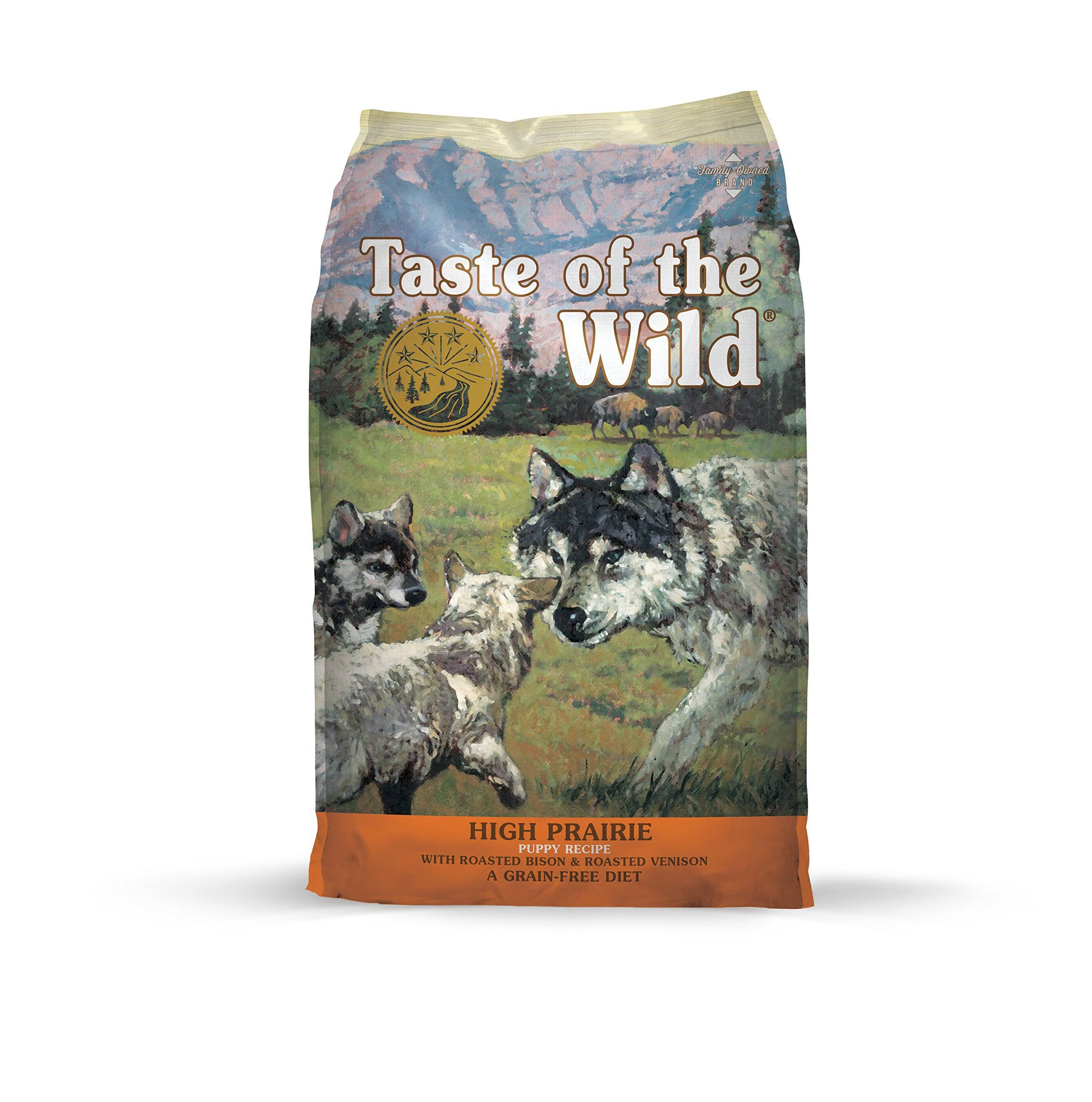 Taste of the Wild Grain-Free High Prairie Dry Dog Food - 5.16 lbs bag