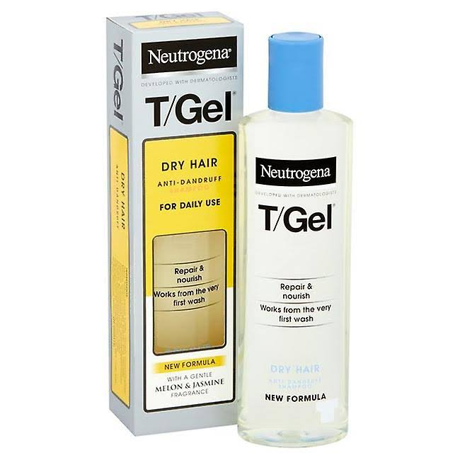 Neutrogena T-Gel Dry Hair Anti-Dandruff Shampoo - 125ml