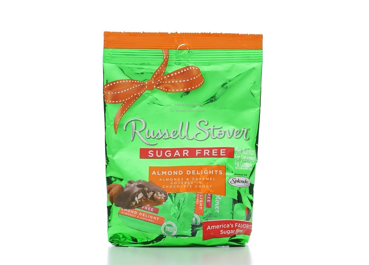 Russell Stover Almond Delights Chocolate Covered Candies - 85g