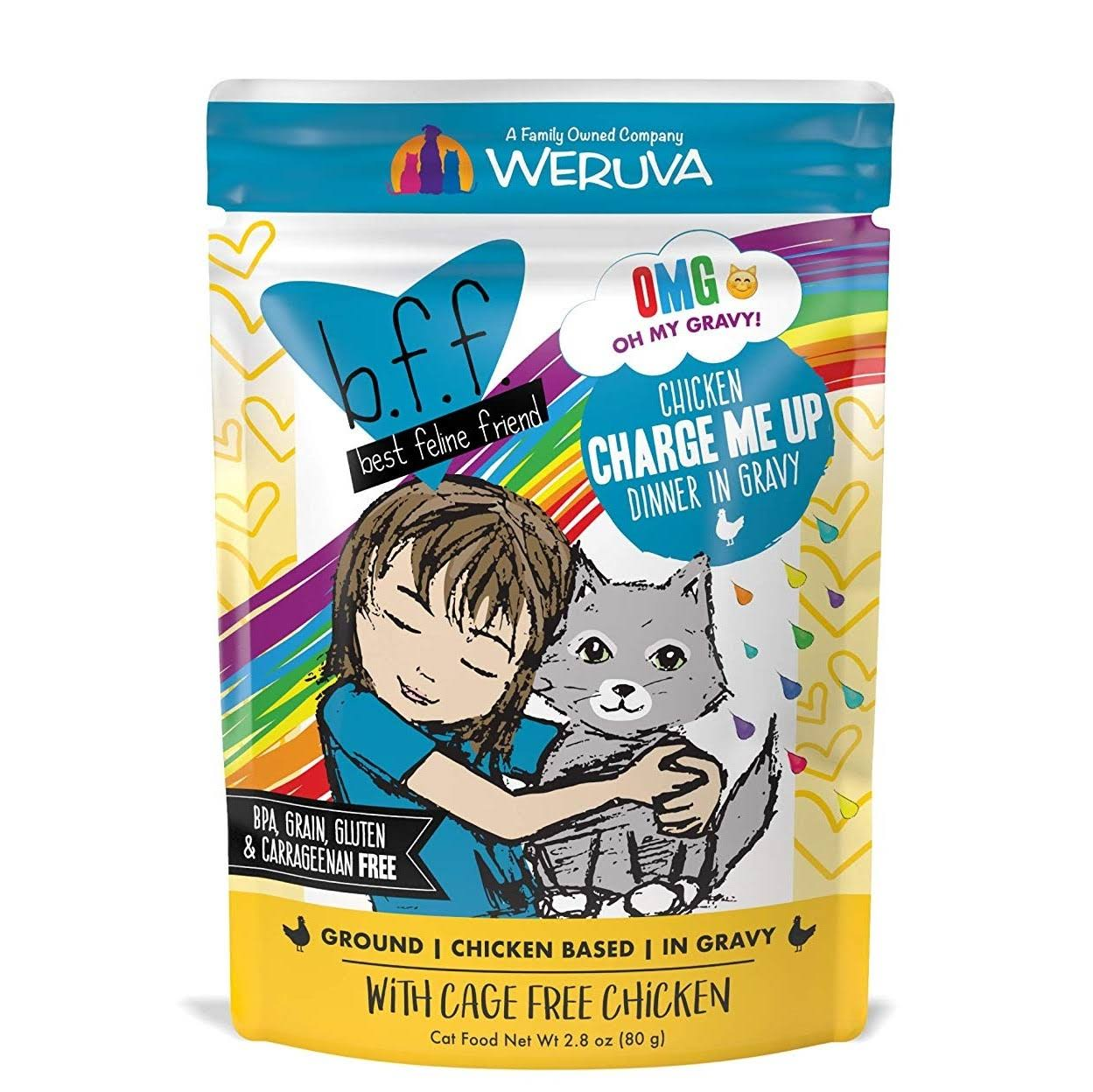 Weruva BFF Chicken Charge Me Up Recipe 3oz Pouch Single