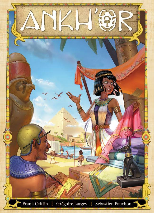 Asmodee Ankh'or Board Game