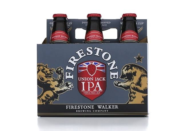 Firestone Walker Ale, India Pale, Union Jack IPA - 6 bottles