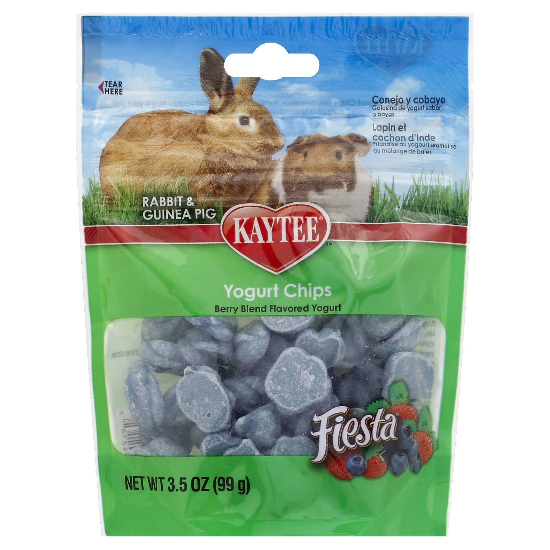 Kaytee Rabbit and Guinea Pig Fiesta Mixed Berry Yogurt Chips - 3.5oz