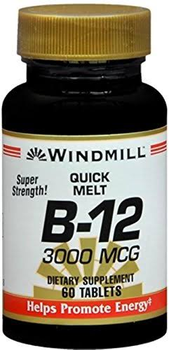 Windmill B-12 3000 mcg Quick Melt Tablets