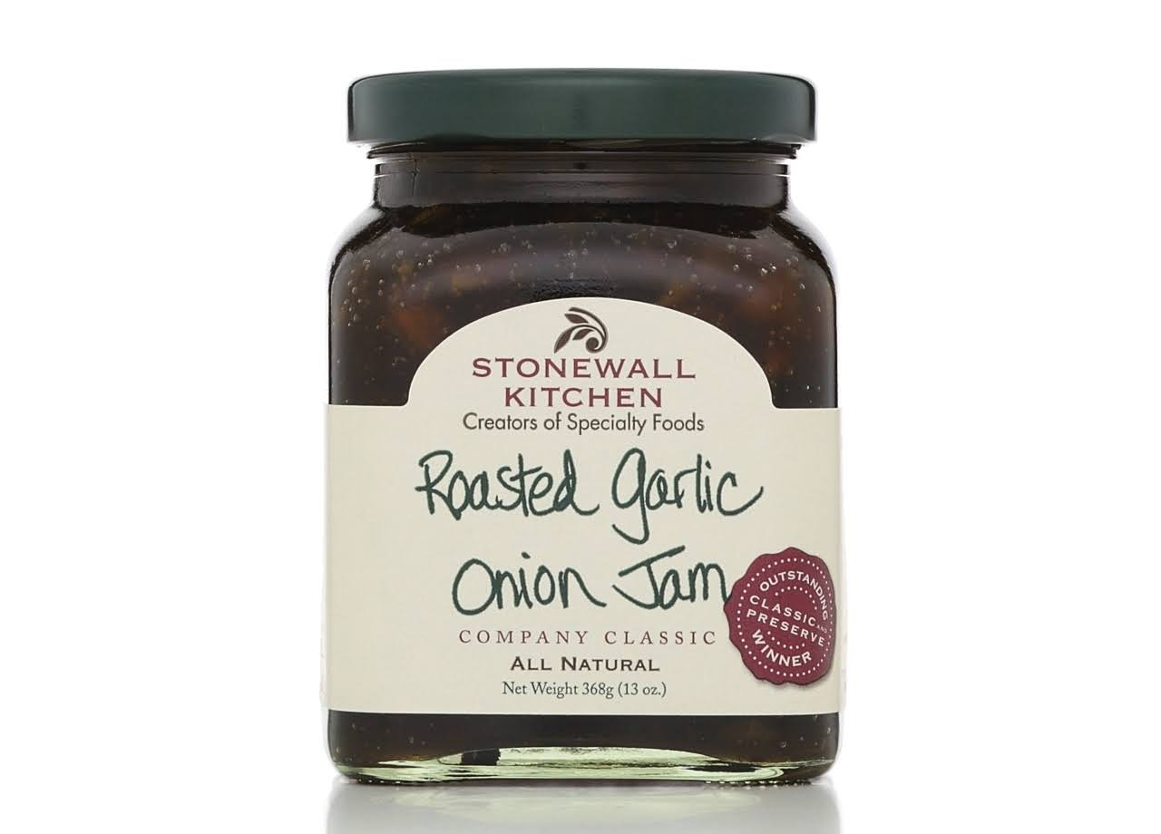 Stonewall Kitchen Roasted Garlic Onion Jam - 13oz