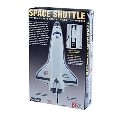 "Lindberg Lnd91007 Space Shuttle Spacecraft Model Kit - 5"" x 8"" x 4"""