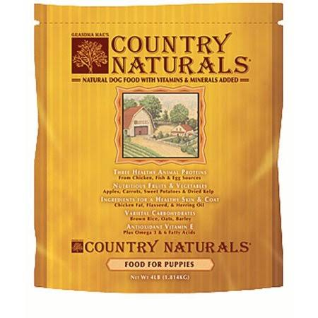 Grandma Mae's Country Naturals Puppy Food - 4lbs
