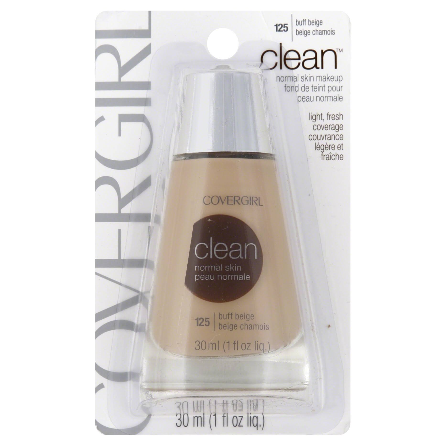 Covergirl Clean Liquid Makeup - Buff Beige 525, 30ml