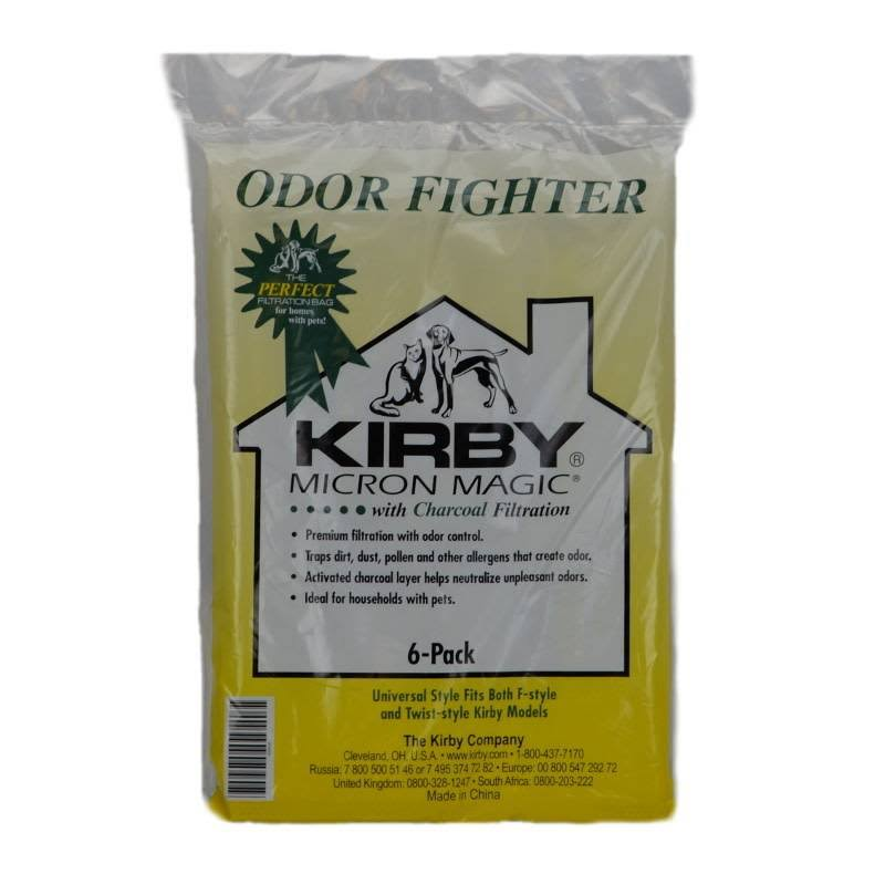 Kirby Bags Universal 6 Pack Odor Control