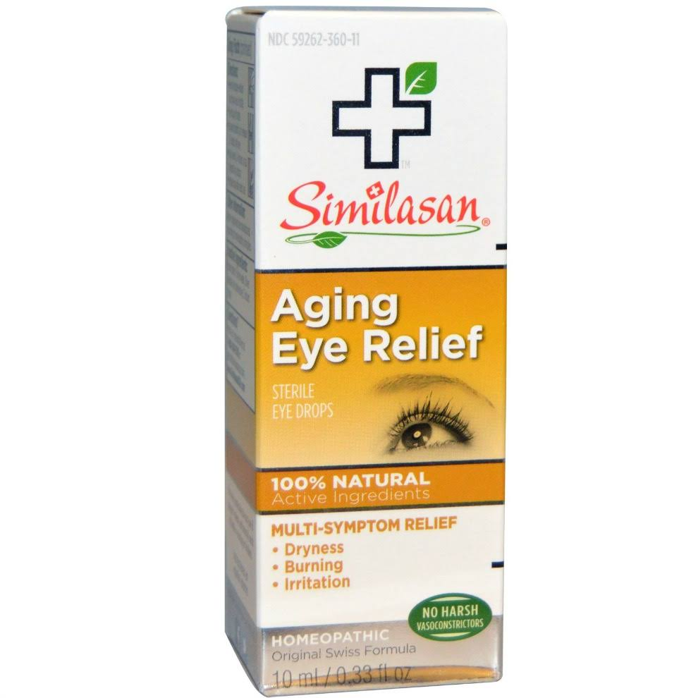 Similasan Aging Eye Relief - 10ml